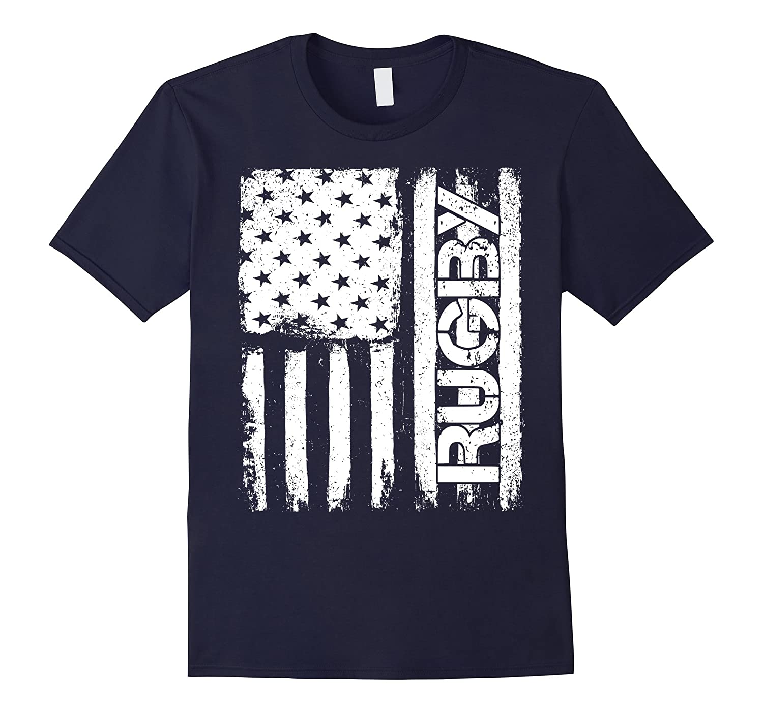 Rugby Flag USA Sports Jersey T-Shirt-FL