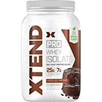Scivation XTEND Pro Protein Powder Chocolate Lava Cake | 100% Whey Protein Isolate | Keto Friendly + 7g BCAAs with Natural Flavors | Gluten Free Low Fat Post Workout Drink | 1.8lbs