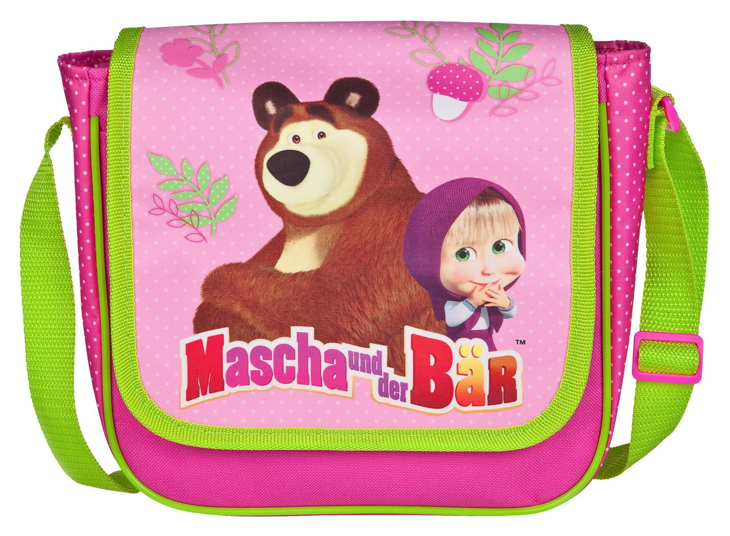 Undercover School Bag, Mascha and the Bear pink (pink) - 10112532 MBCE8126