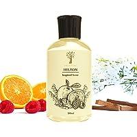 Pristine Hilton Hotel Inspired Refill + 1 Surprise Refill (2x180ml) | Fresh Notes of Tangerine, Raspberry, Musk…
