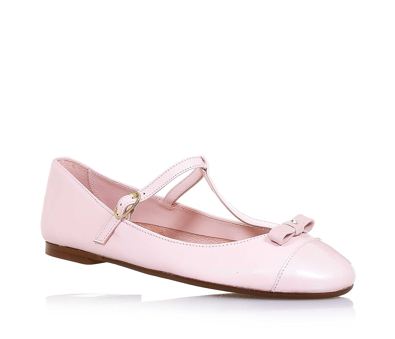 a6d6434e0 ELI - Bailarina rosa de cuero