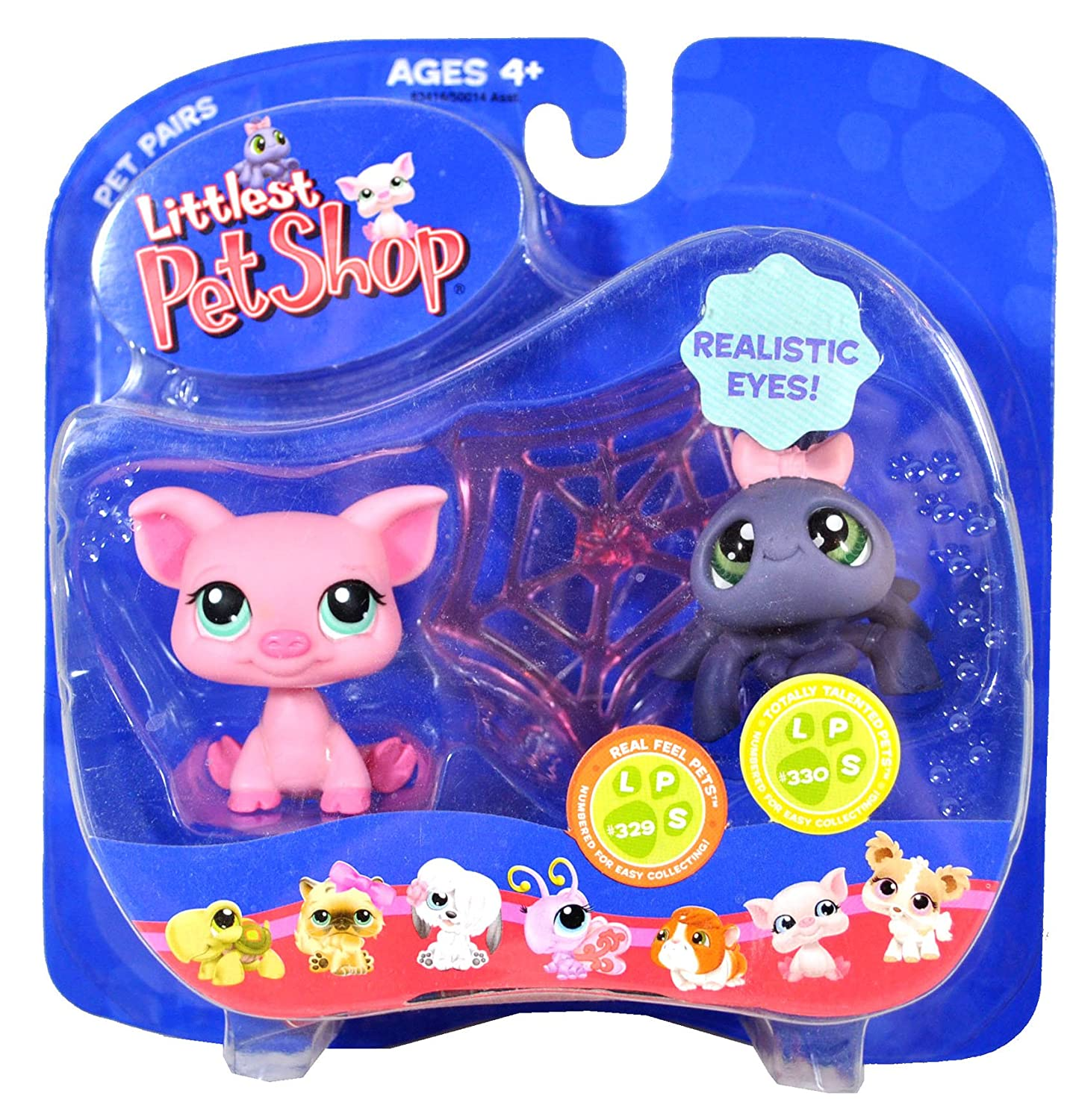 Hasbro Year 2007 Littlest B004X8YEJS Pet Set Shop Shop Pet Pairs Series Bobble Head Figure Set - Real Feel Pets #329 Pink Pig and Totally B004X8YEJS, Suitable:ae3d0397 --- arvoreazul.com.br