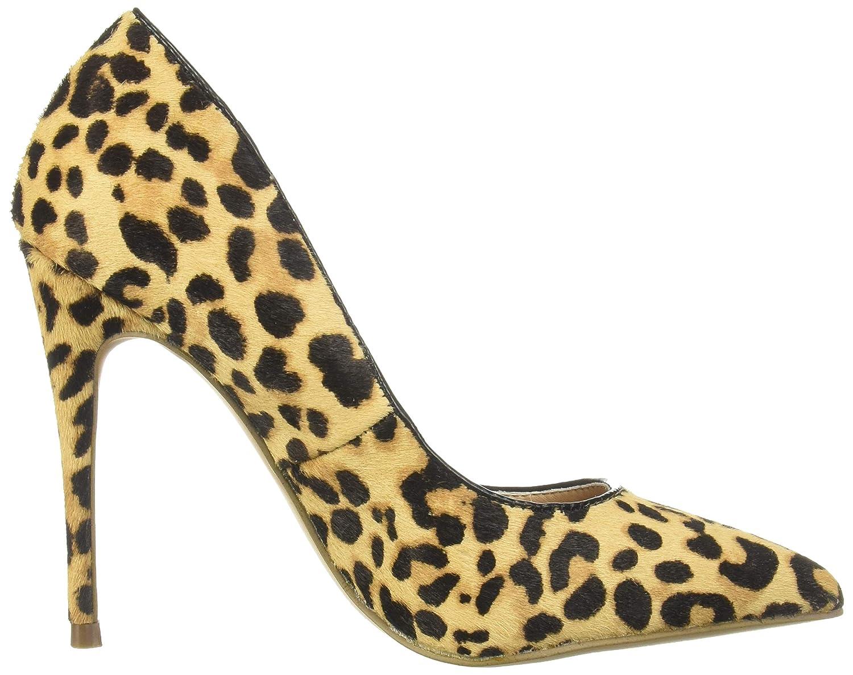 fdce336bcc2 Steve Madden Women's Daisie-L Pump, Leopard, 9.5 M US: Buy Online at ...