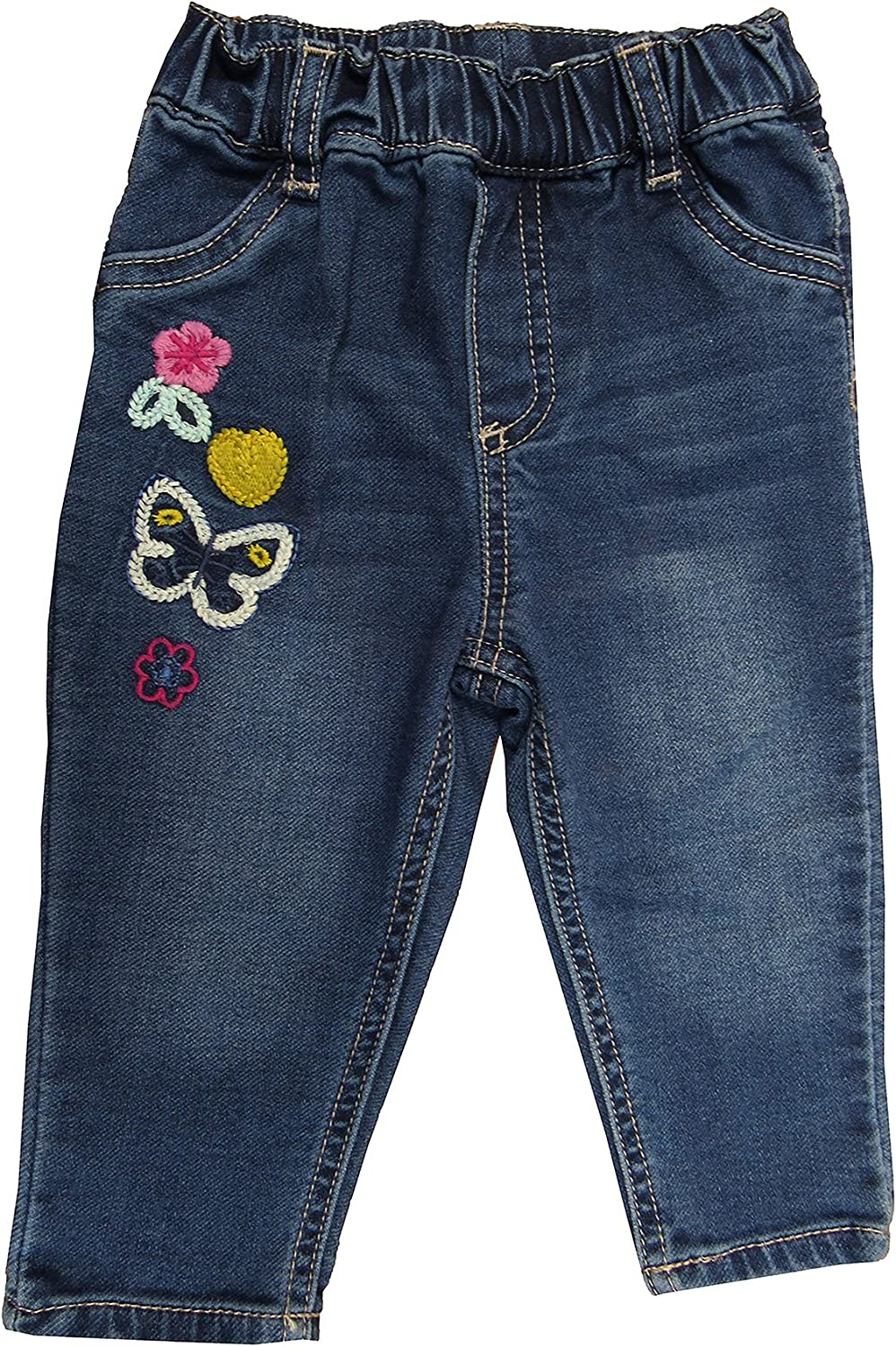 0-24 Months First Impressions Baby Girls Embroidered Patches Pull-On Jeans 24 Months