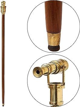 Brass Maritime Royal Handle Vintage Style Designer Wooden Walking Cane Stick New