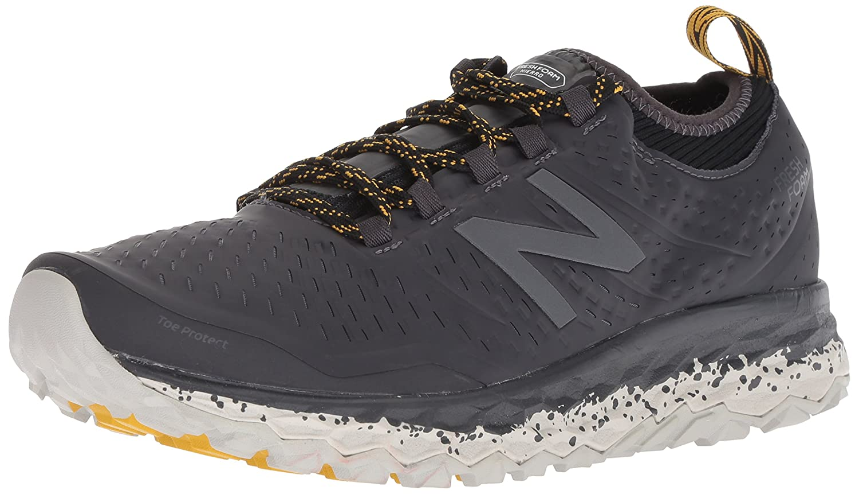 New Balance Men's Hierro V3 Fresh Foam Trail Running Shoe B075R7PTFM 8.5 D(M) US|Grey/Black