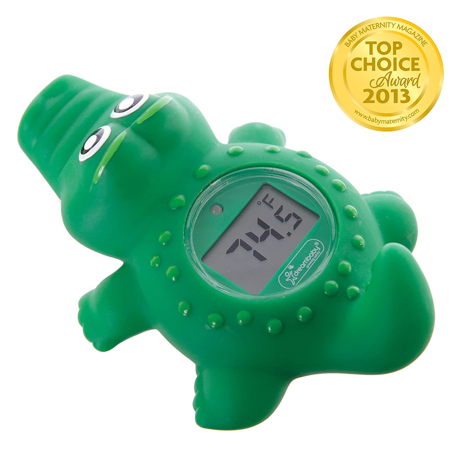 Turtle Dreambaby Room /& Bath Thermometer BPA Free Accurate Temperature Gauge