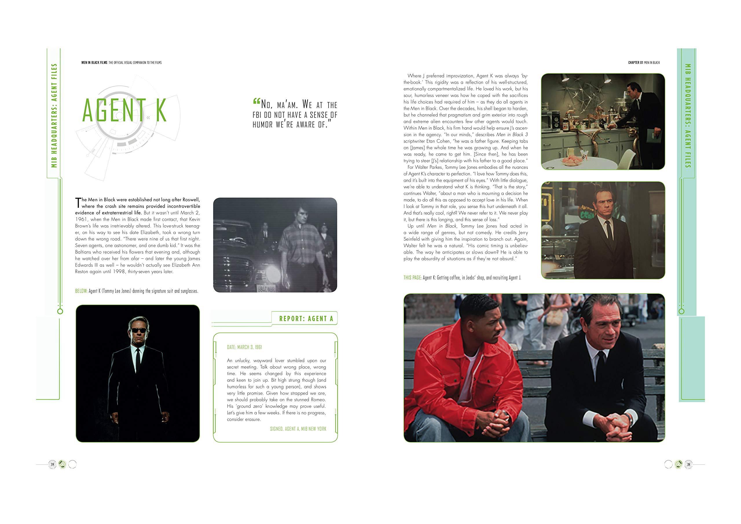 Amazon com: Men In Black: The Extraordinary Visual Companion