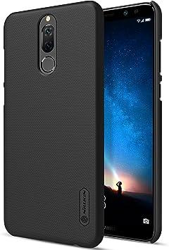 Funda® Firmness Smartphone Funda Carcasa Case Cover Caso + 1 Pantalla Protector para Huawei Mate 10 Lite/Huawei Honor 9i/Huawei Nova 2i/Huawei P9 Lite Mini/Huawei Enjoy 7(Negro): Amazon.es: Electrónica