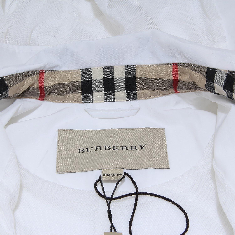 Burberry - Chaqueta - para niña blanco 18 Meses: Amazon.es ...