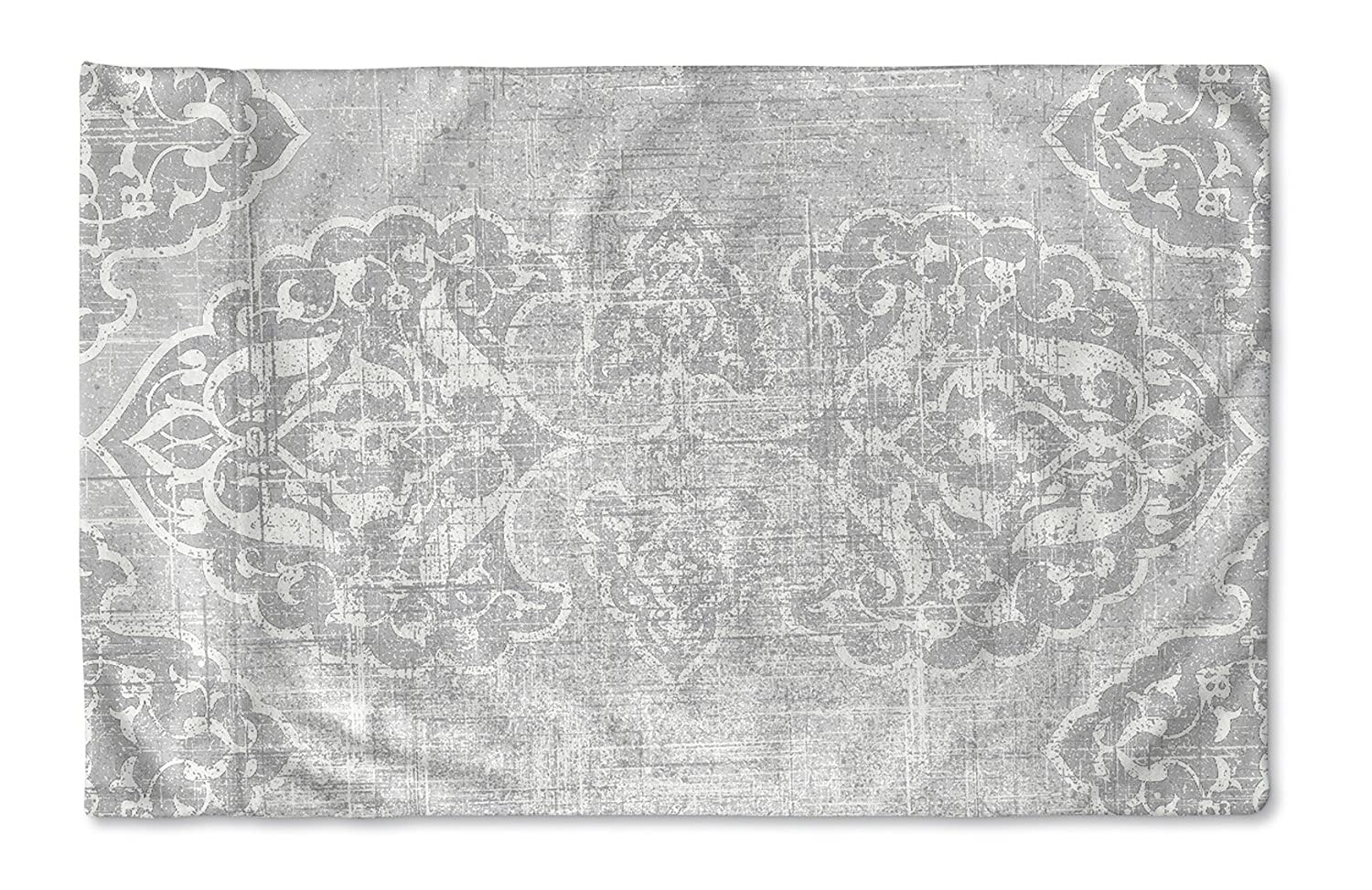 KAVKA Designs Salamanca Pillow Case, (Grey) - , Size: 40X20X1 - (TELAVC1434PC42)