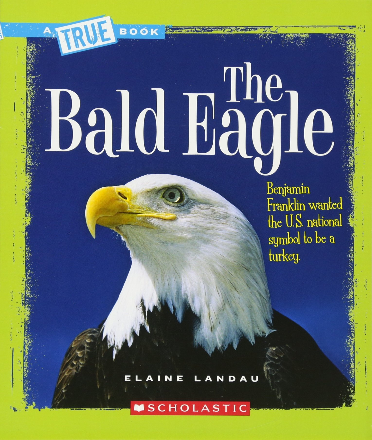 The Bald Eagle True Books American History Paperback Elaine