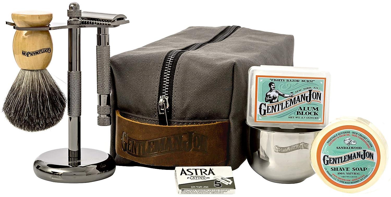 Gentleman Jon Deluxe Wet Shave Kit the art of shaving kit