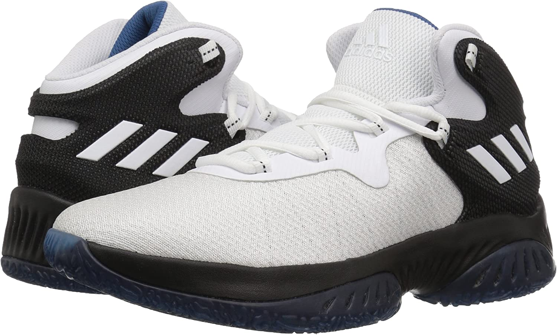 adidas Boys Explosive Bounce 2018 Junior Basketball Casual Shoes,