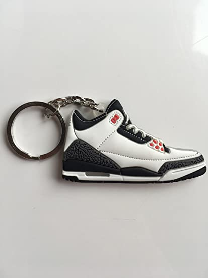 Amazon.com   Jordan Retro 3 Infrared Sneaker Keychain Shoes Keyring AJ 23 OG    Sports   Outdoors f2413aaa2