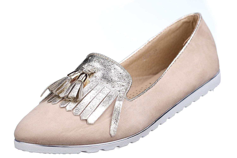 coco perla - Mocasines para mujer beige beige: Amazon.es: Zapatos y complementos