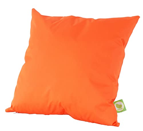 Waterproof Outdoor Garden Furniture Seat Cushion Filled with Pad By Bean Lazy - Orange