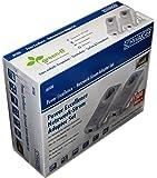 Schwaiger AV500 Power excellence - Netzwerk-Strom-Adapter-Set Full HD streaming