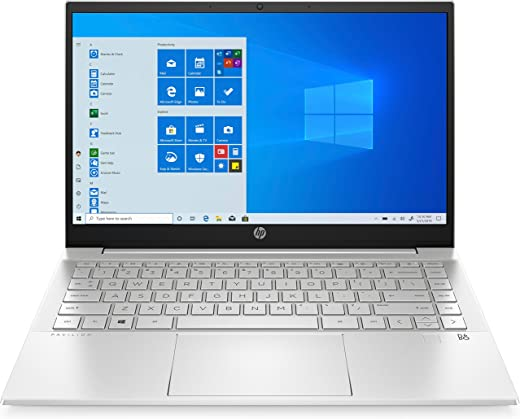 "HP - PC Pavilion 14-dv0018nl Notebook, Intel Core i7-1165G7, RAM 16 GB, SSD 1 TB, NVIDIA GeForce MX450 2 GB, Windows 10 Home, Schermo 14"" FHD IPS, USB-C, USB, DisplayPort, HDMI, Argento"