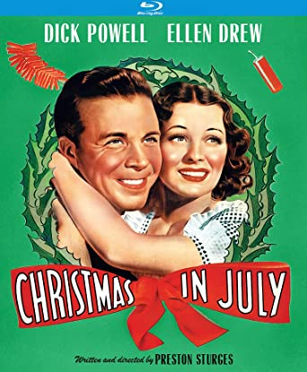 Christmas In July Movie.Amazon Com Christmas In July Blu Ray Dick Powell Ellen
