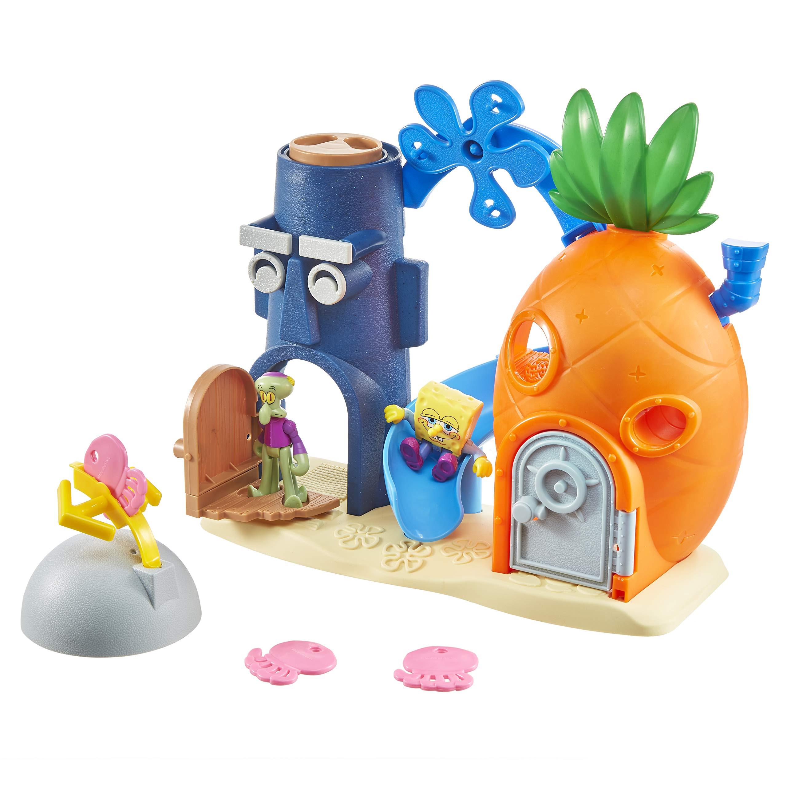 Fisher-Price Imaginext SpongeBob Bikini Bottom Playset, Preschool Toy for Kids 3 Years and Up [Amazon Exclusive]