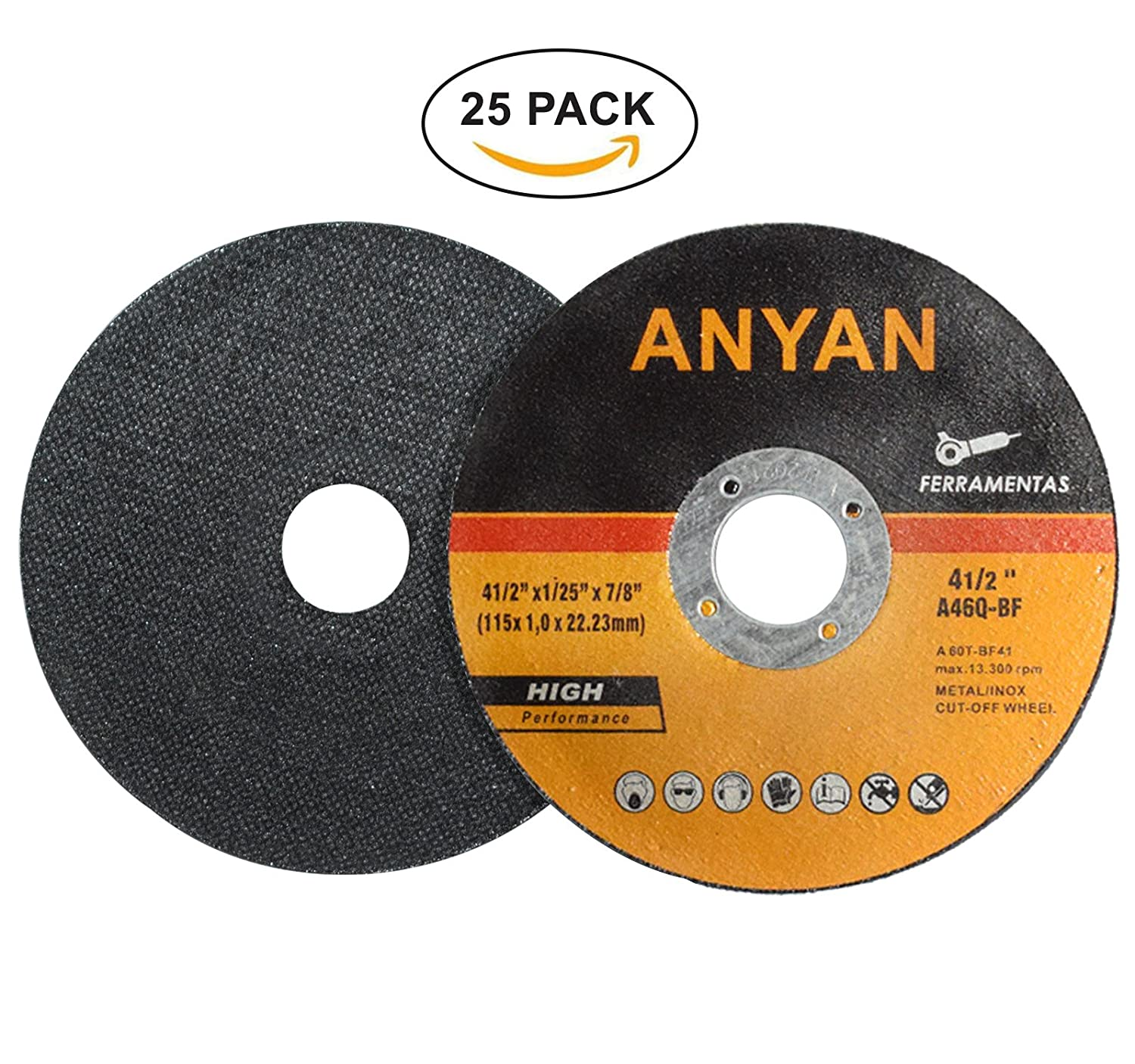 Amazon.com: Anyan - Disco de corte ultrafino para metal y ...