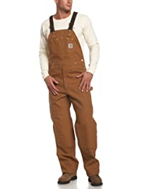 Carhartt Mens Duck Bib Unlined Overall R01