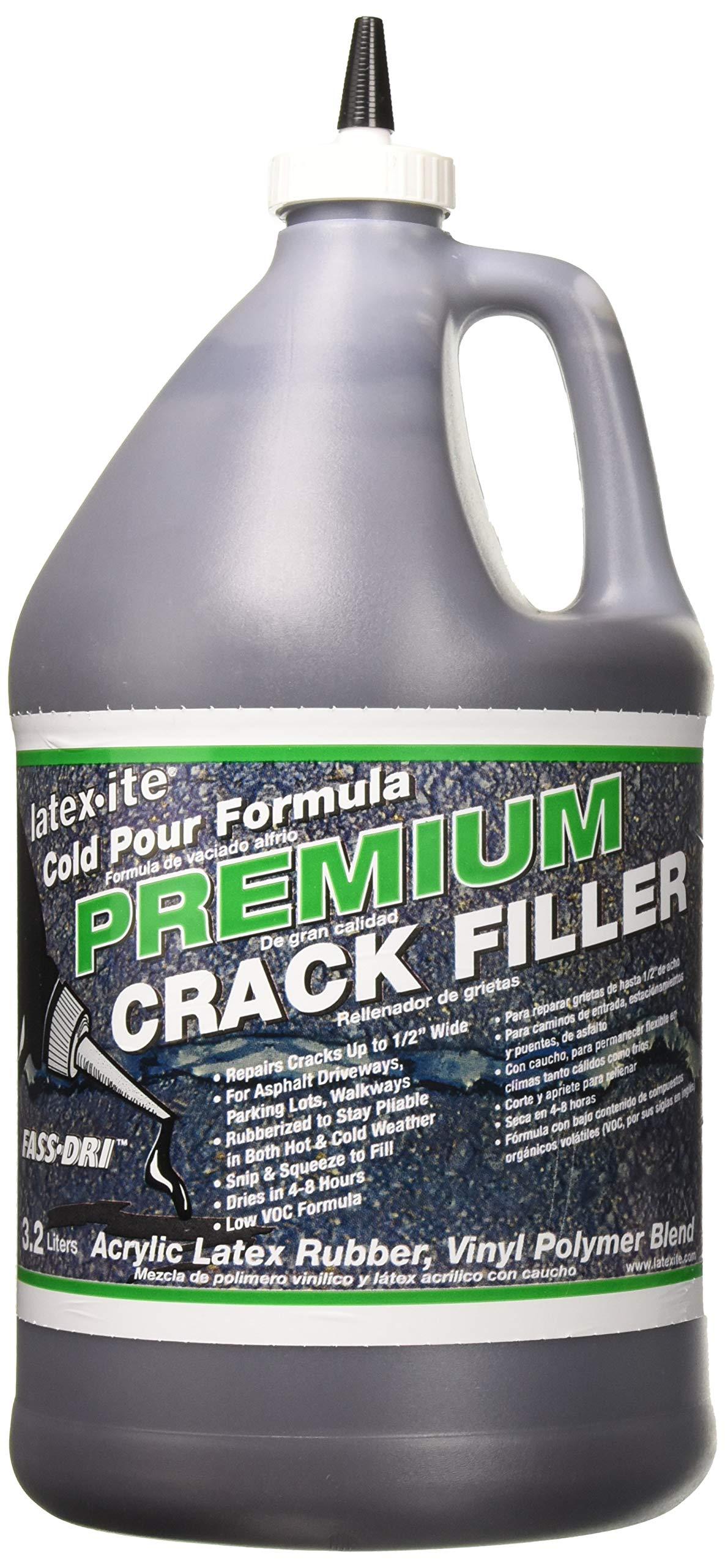DALTON ENTERPRISES 31623 Latex-Ite Premium Crack Filler, 1 Gal