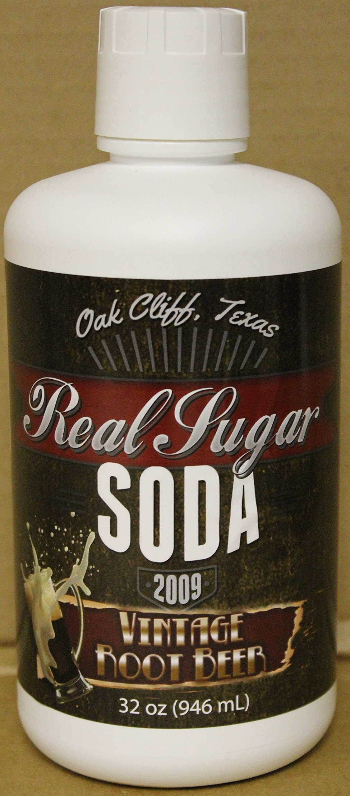 Vintage Root Beer Cane Sugar Soda Syrup 12 Pack Case by Real Sugar Soda (Image #1)