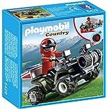 Playmobil - 5429 - Figurine - Quad De Secours En Montagne