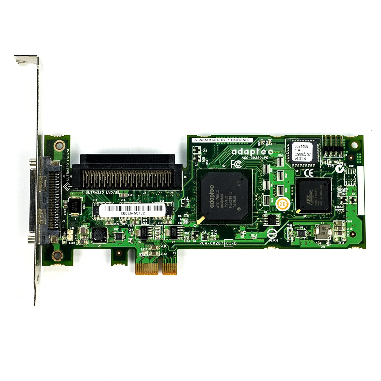 DOWNLOAD DRIVERS: ADAPTEC SCSI CARD 29320A-R PCI-E ADAPER
