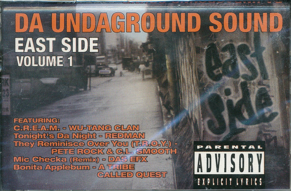 Da Undaground Sound:East Side Vol 01Explicit Lyrics