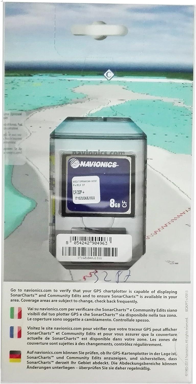 Navionics Platinum+ Compact Flash: Amazon.es: Electrónica