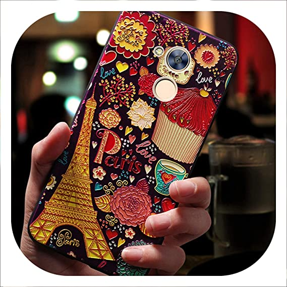 brand new 9bf06 0a4d6 Amazon.com: 3D Phone Coque,Cover,case for Huawei Honor Silicone ...