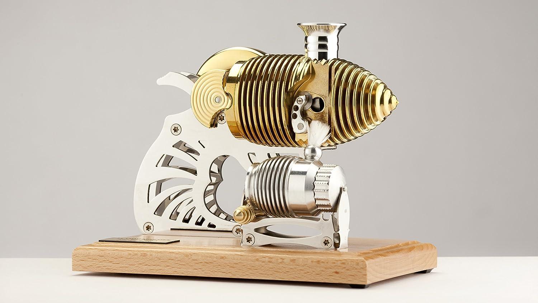 Böhm Stirling Stirling Stirling Technik Heißluft Stirling Modell Wissenschaftliches Spielzeug HB22-kit, Bausatz, Natur 402250