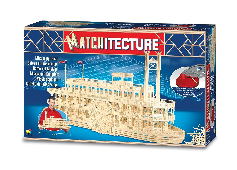 amazoncom bojeux matchitecture mississippi boat toys games