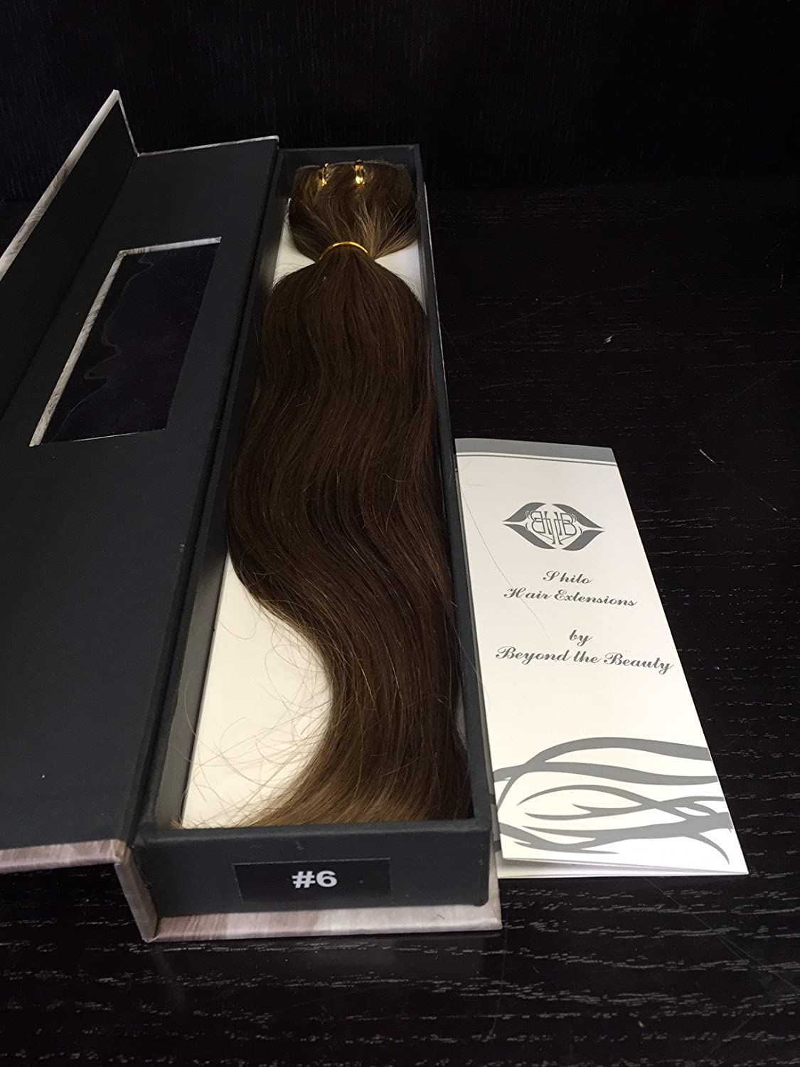 cd17710942d4 Amazon.com : SHE by Beyond The Beauty Clip On Remy Human Hair ...