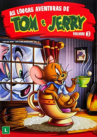 Loucas Aventuras De Tom Jerry Dvd Desenho Variados Amazon