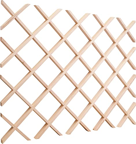Hard Maple 24″ x 30″ Wine Lattice Rack
