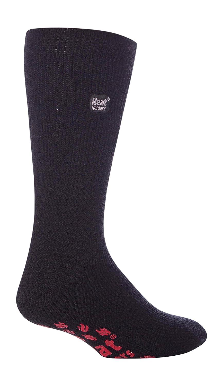 Flymo thermique pour homme 1 Paire de chaussettes Heat Holders Chaussettes-Pantoufles 46-48 46-50 Eur BIGFOOT Noir avec Coussinets Rouge