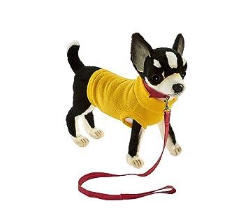 Hansa – Peluche Chihuahua Negro & Camiseta Amarillo 24 CMH/25cml