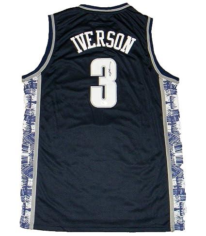 finest selection 31fb0 35fe8 Signed Allen Iverson Jersey - #3 Nike Basketball - JSA ...