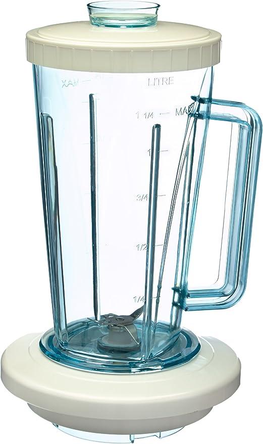 Moulinex A32804 Vaso de batidora, 1.25 litros, Plástico, Blanco ...