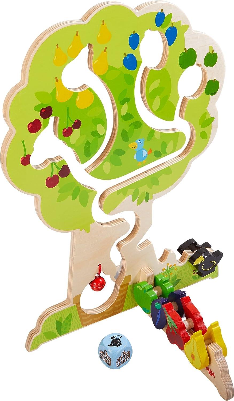 HABA 303821 - Motorikspiel Obstgarten   Motorikspielzeug basierend auf dem beliebten HABA-Spieleklassiker Obstgarten   Holzspielzeug ab 18 Monaten Non Books Non Books / Spielzeug