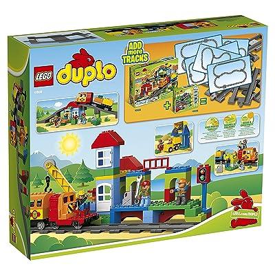 LEGO Lego-Duplo Deluxe Train Set 10508: Toys & Games