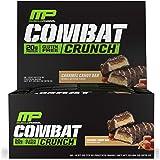 Muscle Pharm Combat Crunch 12 Bars Caramel Candy Bar, 1.95 Pound