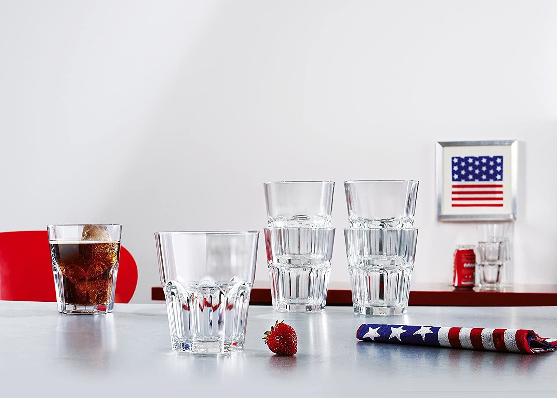 40 cl forma alta Luminarc nuova America Caso 3 bicchieri