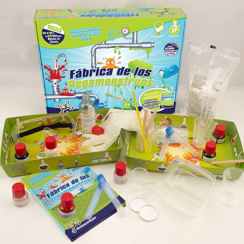 Science4you Fábrica de los pegamonstruos - Slime - Juguete científico y educativo: SCIENCE FOR YOU: Amazon.es: Juguetes y juegos