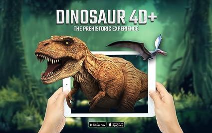 Amazon Com Dinosaur 4d Flashcards Toys Games