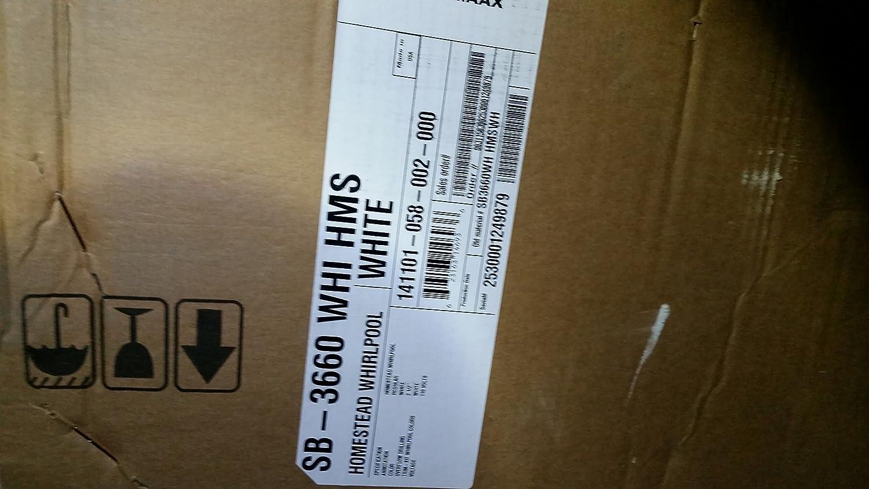 Aker MAAX 141101-058-002-000 1PC Bathtub SB-3660: Amazon.ca: Tools ...